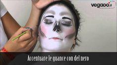 Trucco scheletro glamour Carnevale