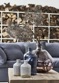 Add the perfect finishing touch to a cosy coastal living room with handcrafted vases and pots. #nautical #home #decor