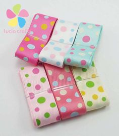 Aliexpress.com : Buy 25mm Grosgrain Dots Ribbon Decorative Crafts 040054049 from Reliable ribbon trim suppliers on Lucia Craft store Cheap Ribbon, Ribbon Storage, Decorative Crafts, Cute Headbands, Pretty And Cute, Diy Scrapbook, Points, Sewing Techniques, Diy Party