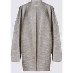 Linea Limited Wool Rich Longline Double Face Cardigan ($49 ...