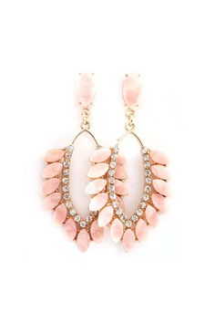 Kimmie Earrings in Aspen Mother of Pearl