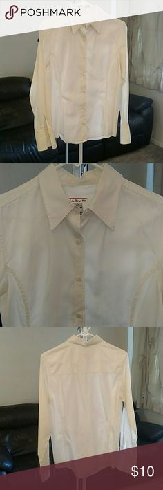 Talbot's white button down shirt button down Tops Button Down Shirts