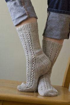 Ravelry: Divinity Socks pattern by Virginia Sattler-Reimer