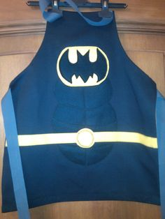Batman dressing up apron