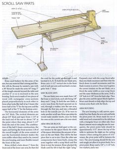 Foot Powered Scroll Saw Plans - Scroll Saw