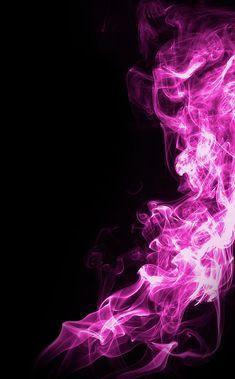 Purple Wallpaper, Colorful Wallpaper, Cute Wallpapers, Wallpaper Backgrounds, Neon Rosa, Marshmello Wallpapers, Purple Fire, Smoke Art, Pink Photo