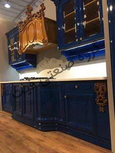 کابینت آشپزخانه ام دی اف لوکس کلاسیک با رویه کورین