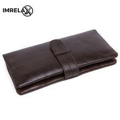 men outfit IMRELAX Long Wallets Genuine Leather Wallet Leather Men Wallets Purse Vintage Designer Male Purse Carteira Card Holder HandBag * AliExpress Affiliate's buyable pin. Click the image to find out more on www.aliexpress.com #MensWalletsGenuineLeather