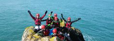 Contact Celtic Quest Coasteering to book your individually tailored adventure activity in Pembrokeshire, Wales