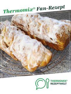 Hefezopf mit Nussfüllung von gosi22. Ein Thermomix ® Rezept aus der Kategorie Backen süß auf www.rezeptwelt.de, der Thermomix ® Community.