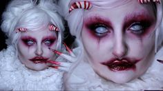 RED QUEEN | Michael Hussar w/ Goldie Starling | Halloween Costume Makeup...