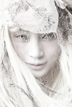 Looks like a snow maiden.