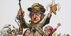 Television and Film Art of Jack Davis – Voices of East Anglia Jack Davis, Rogues, Comic Art, Illustrators, Princess Zelda, Portrait, Image, Bananas, Editor