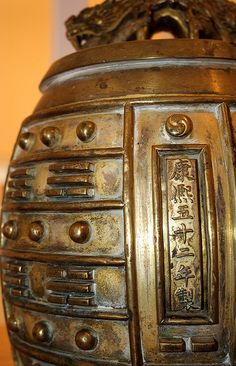 Antique Chinese Bell by dhgatsby, via Flickr
