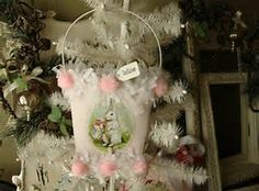 Image result for Shabby Chic Easter Basket