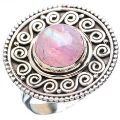 #Chunky 925 #Sterling #Silver.#Handmade #Pink #Moonstone #Gemstone #Ring for #Woman & #Man We deals in all types of jewelry like #Children's Jewelry#Engagement & #Wedding#Ethnic, Regional & Tribal,#Fashion Jewelry#Fine Jewelry#Handcrafted #Artisan Jewelry #Jewelry Design & Repair#Men's Jewelry #Vintage & #Antique Jewelry#Wholesale Lots so please ask us if you have any enquiry