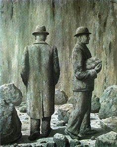 "surrealism-love: ""Song of violet, Rene Magritte "" Max Ernst, Rene Magritte, Conceptual Art, Surreal Art, Magritte Paintings, Pop Art Movement, Art Moderne, Cubism, Oeuvre D'art"