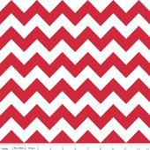 red, grey, yellow, black and blue chevron fabric