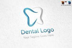 Dental Logo by aykutfiliz on @creativemarket