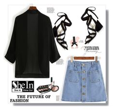 """""""SheIn contest"""" by edita-n ❤ liked on Polyvore featuring Kenneth Cole, Bebe, Isadora and Haze"""