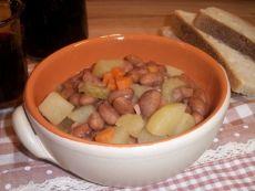 Zuppa di Fagioli Borlotti e Patate
