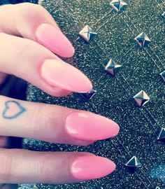 pink stiletto nails by LexiesLittleLuxuries on Etsy, $20.00