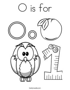 Customizable coloring pages for each letter. Twisty Noodle ...