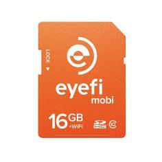 New Eye-Fi eyefi MOBI 16GB CLASS 10 SDHC WiFi Flash Memory SD Card F/S #EyeFi
