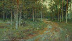 In Sergeevshchina - oil, canvas, Yuri Vasendin