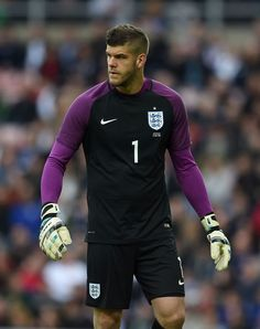 England's goalkeeper Fraser Forster is pictured during the friendly football match between England and Australia at the Stadium of Light in Sunderland, north east England, on May 27, 2016. / AFP / PAUL ELLIS / NOT FOR MARKETING OR ADVERTISING USE / RESTRICTED TO EDITORIAL USE