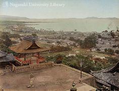 三井寺から望む琵琶湖(1)BIWA LAKE FROM MIIDERA