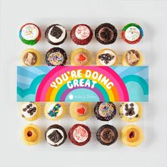 Delicious Bite-Size Cupcakes and Cupcake Delivery - Baked by Melissa Chocolate Chip Pancakes, Chocolate Icing, Mini Chocolate Chips, Chocolate Peanut Butter, Hostess Cupcakes, Mini Cupcakes, Mint Cookies, Cookies And Cream, Biscoff Cake