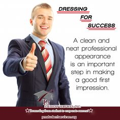 DRESSING FOR SUCCESS pmstudentservices.org