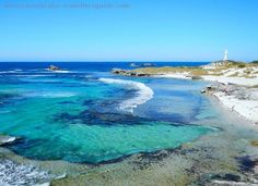 Sunny afternoon at The Basin, Rottnest Island, Western Australia.     More pictures and info here: www.westernaustralia-travellersguide.com/the-basin-rottnest.html