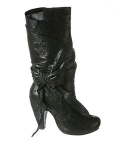 Take a look at the Black Party Pants Boot on #zulily today!