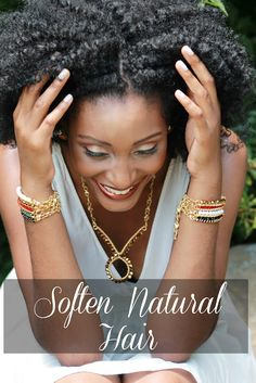 Asili Glam: How to soften coarse natural hair
