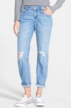 Billabong Destroyed Boyfriend Jeans (Light)