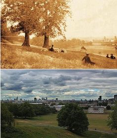 London in 1897 and Now