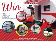 WIN a CARAVAN CUBBY FOR THE KIDS! 2 cubbies and 2 WINNERS! Free and easy entry here ~ http://allofmyloves.com.au/2014/10/caravan-cubbies/
