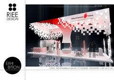 EXHIBITION BOOTH_design2 by Erlina Chang, via Behance