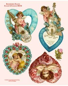 Miniature Printables - Valentines.