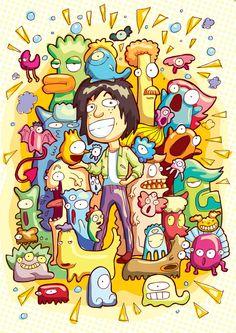 Cartoon! vector illustrations