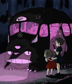 Totoro x Wizyou 💮 #draw #drawing #art #illustration #manga #studioghibli #girl #drawings #design #portrait #dessin #color #tattoo #sad #cute #love #vectorart #graphic #sadboys #vaporwave #aesthetic #clothes #sadgirls #kyoto #webart #mode #sadboy #trill #totoro