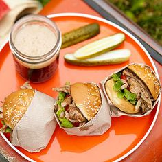 Root Beer Pulled Pork Sandwiches From Better Homes and Gardens, ideas and improvement projects for your home and garden plus recipes and entertaining ideas.