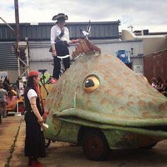 "@onesavvysteph's photo: ""Singin next to pirates... One of the perks of launching the  @adelaide_fringe #adlfringe #voiceoftransition"""