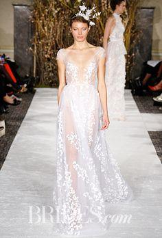 Brides.com: . Wedding dress by Mira Zwillinger