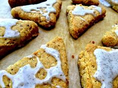 Petite Vanilla Almond-Flour Scones *Gluten-Free, Grain-Free, Dairy-Free*