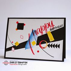 STAMPlorations™ Blog: {Spotlight Project} Shirley's Inspired by Wassily Kandinsky