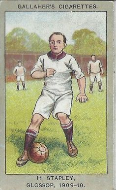 H. Stapley of Glossop in 1909-10.