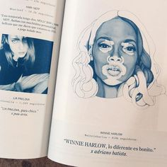 Y así quedó impresa @winnieharlow en @veinmagazine  by carmen_garcia_huerta